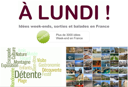 A lundi, guide week-end & loisirs