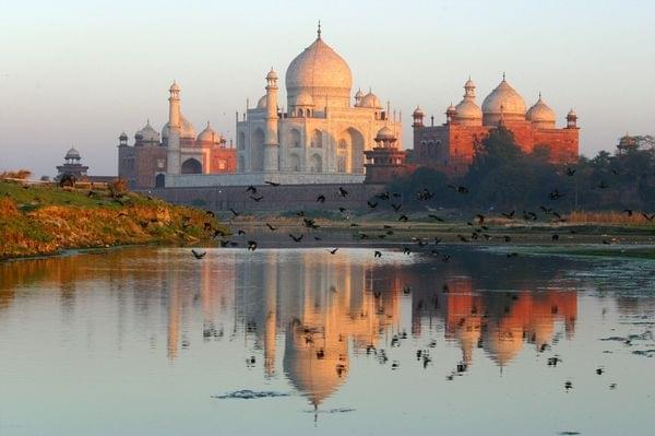 Photo Agra et son Taj Mahal!