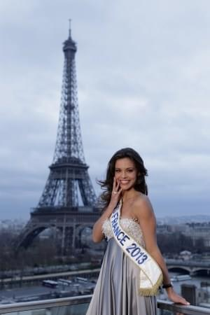 Photo Interview de Marine Lorphelin, Miss France 2013