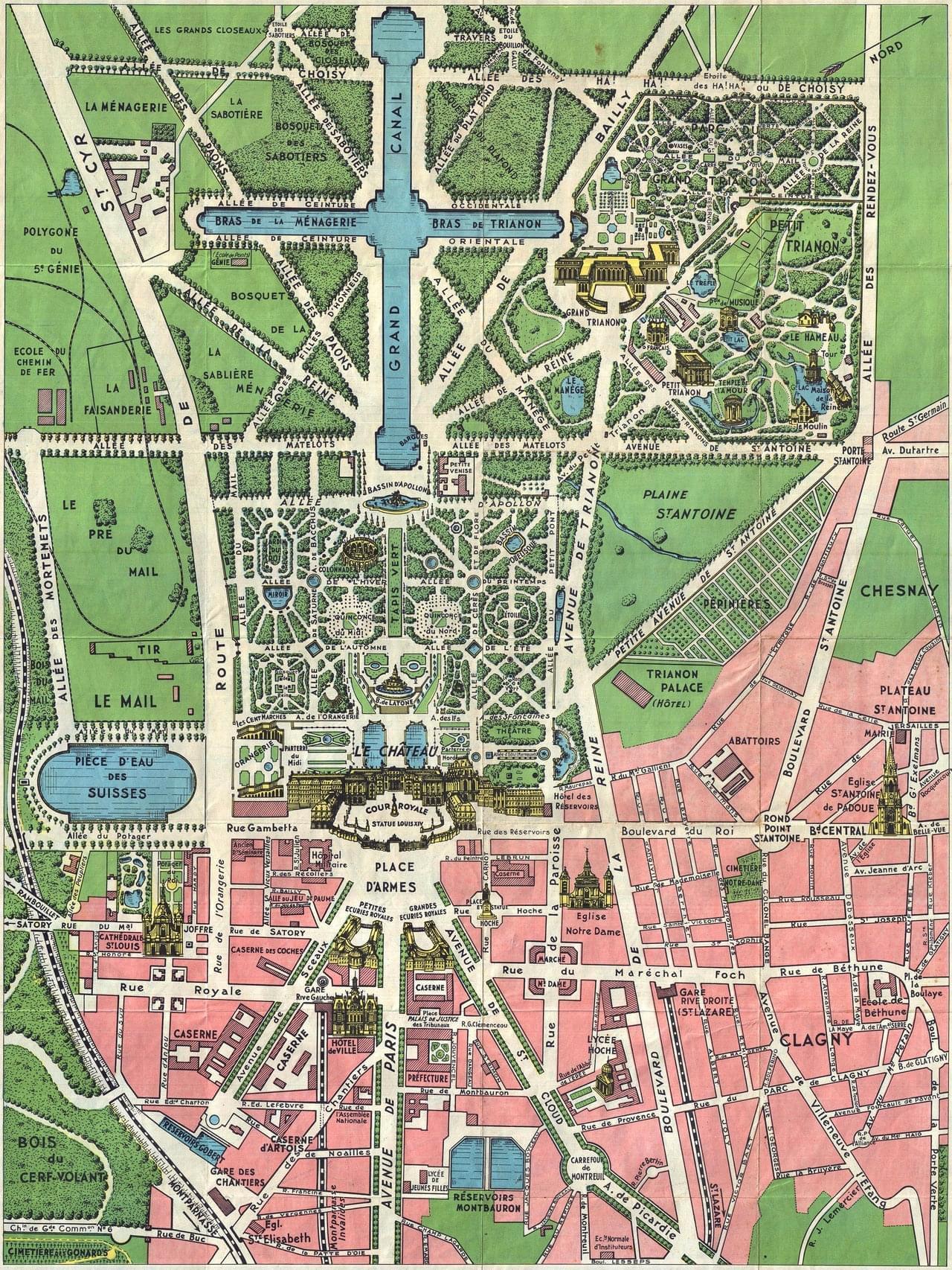 Photo Visiter Versailles avec le bon plan touristique