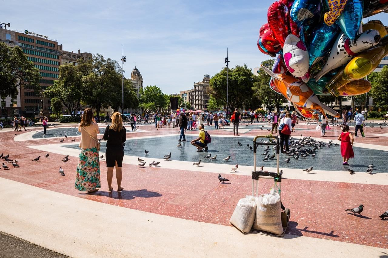 Photo Les arnaques et pièges à touristes à Barcelone
