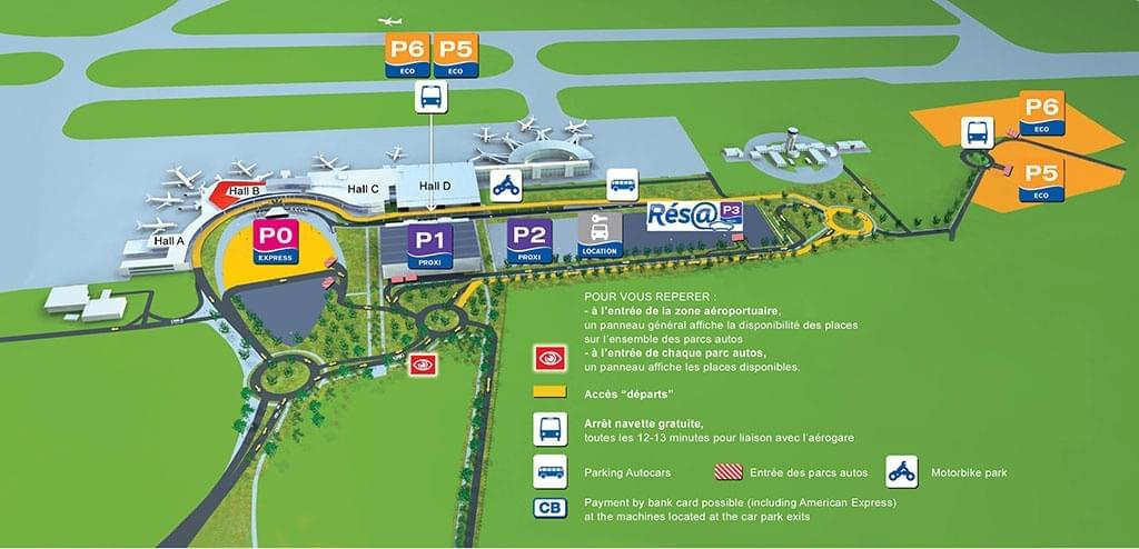 plan aeroport de toulouse