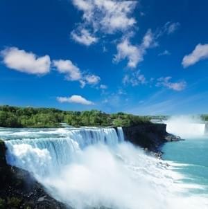 Voir les chutes du Niagara...