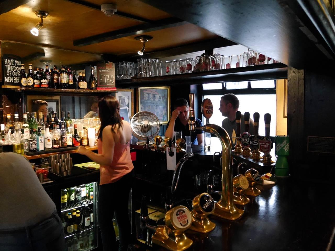 Photo du guide de voyage Top bars et pubs de Londres