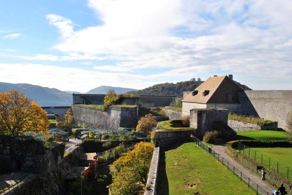 Chemins de ronde de Besançon