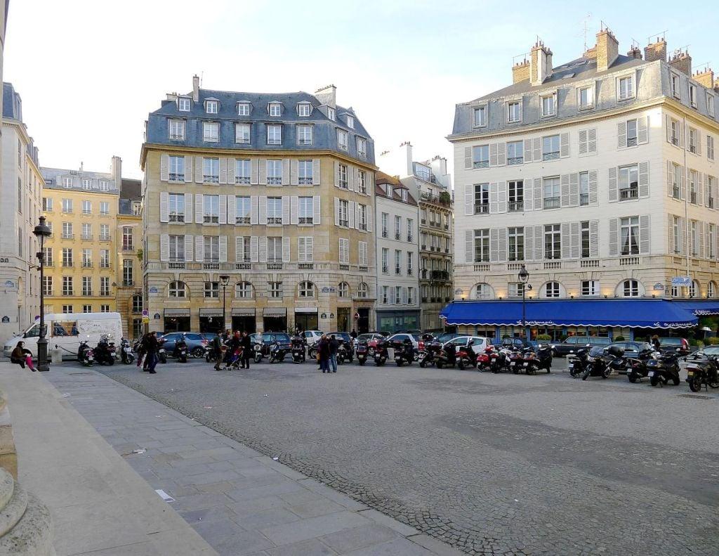 Place et rue de l'Odéon