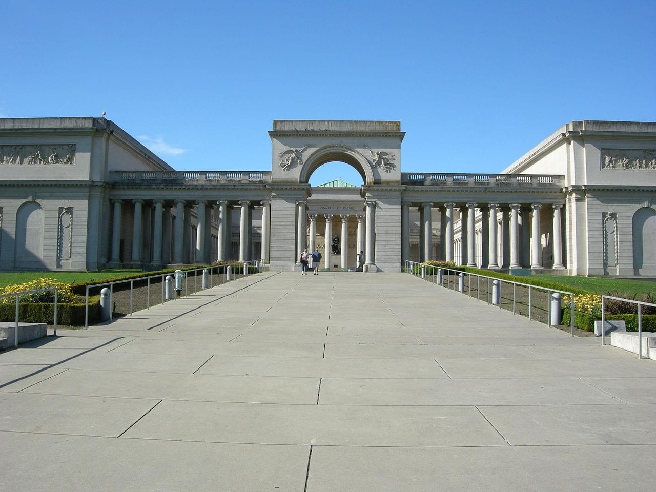 The California Palace of the Legion of Honor