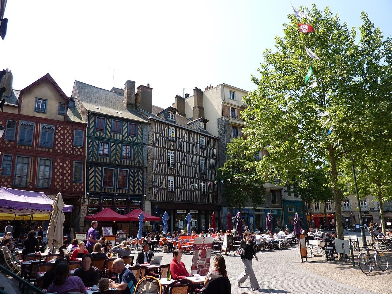 Place Sainte-Anne de Rennes