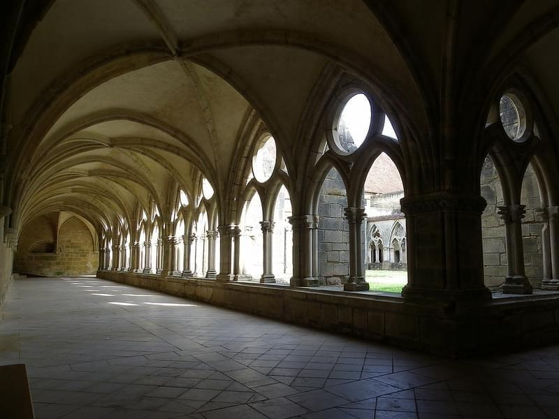 Summer memories : l'abbaye de Noirlac, Berry, France
