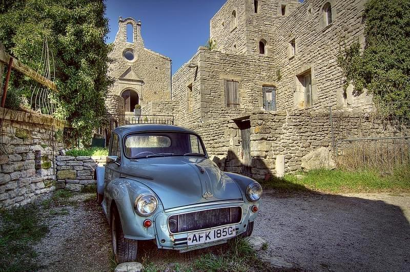 Photo Vintage Morris in Saignon