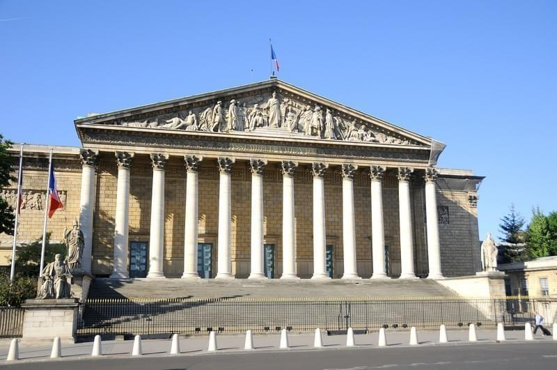 Assemblee nationale Palais Bourbon