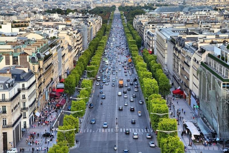 Avenue Des Champs Elysees Tour De France