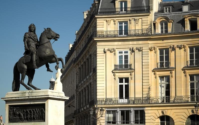 Place des victoires paris france