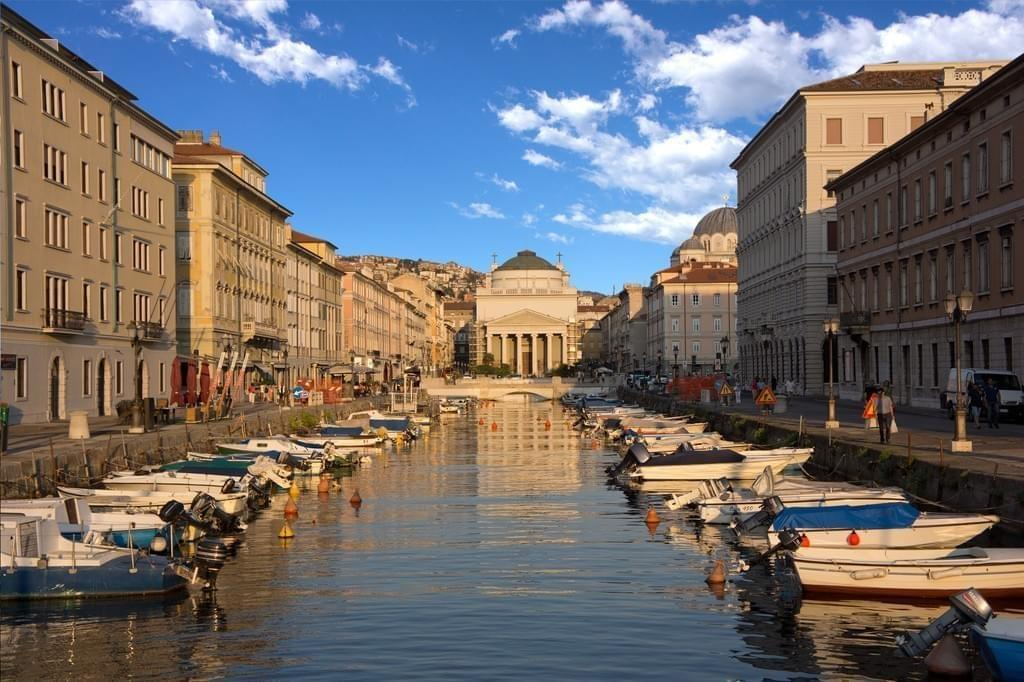 Le Grand Canal, Trieste