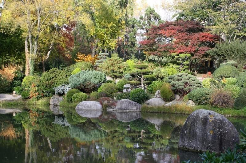Japanese garden plan for Jardin japonais toulouse