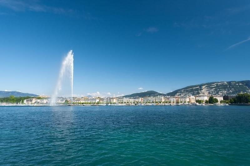 Photo Le jet d'eau de Geneve