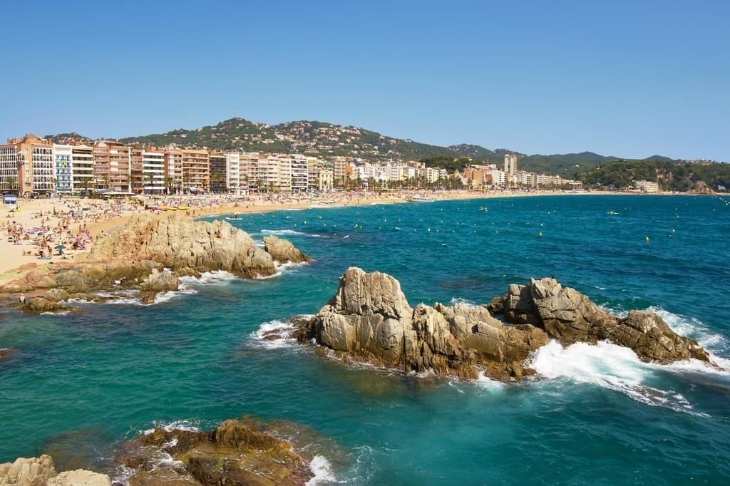Lloret De Mar Spain  city photo : Village et plages de Lloret de Mar à Lloret de Mar