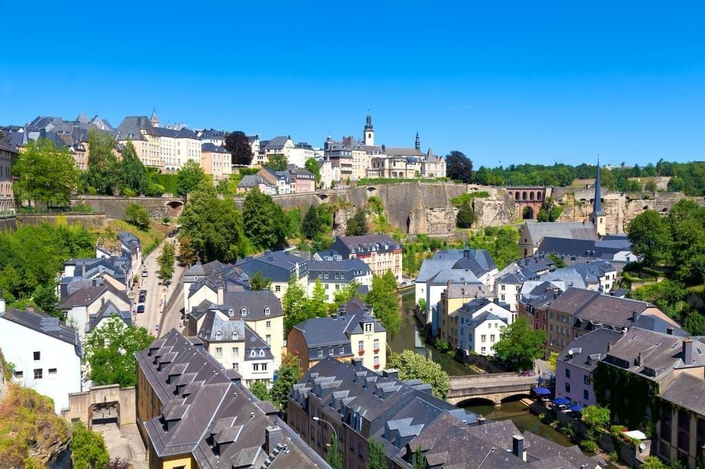 Photo Ville de Luxembourg : vieux quartiers et fortifications
