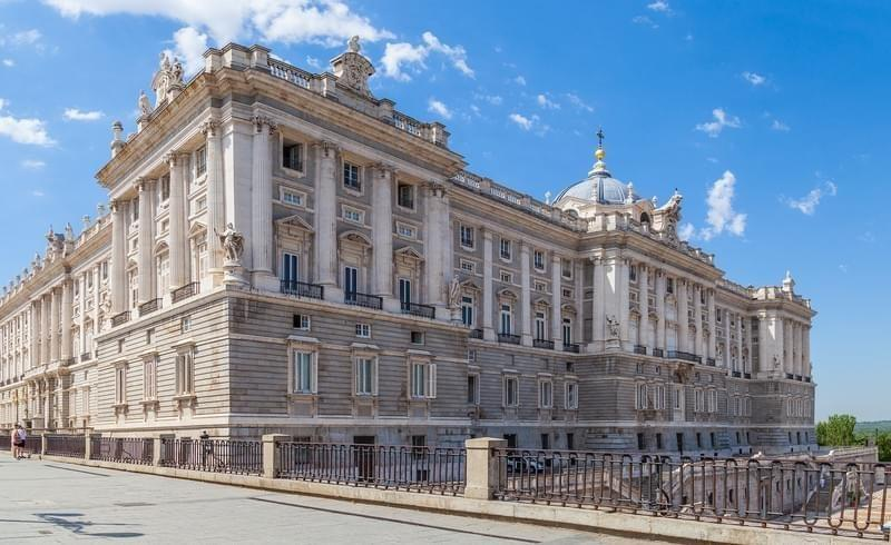 Palais royal de Madrid