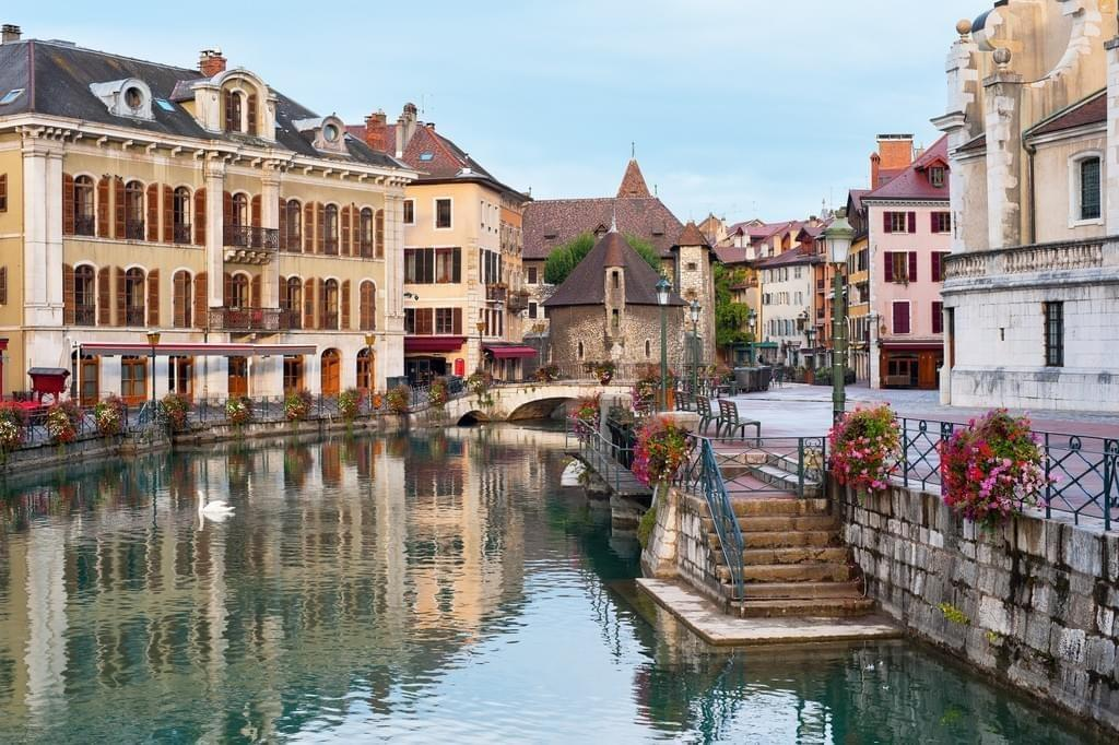 Photo La vieille ville d'Annecy