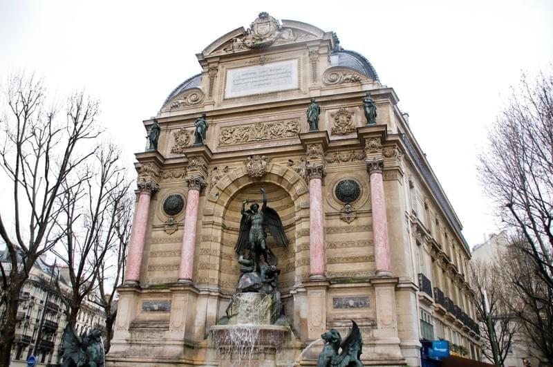 Place Saint Michel, Paris