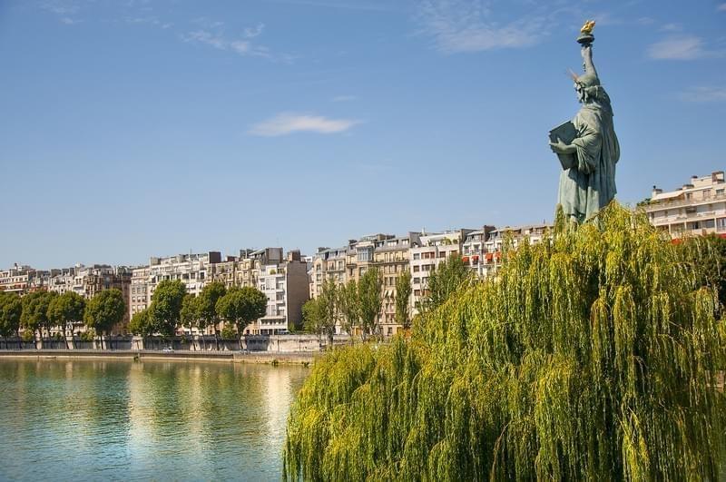 La Statue de la Liberté de Paris