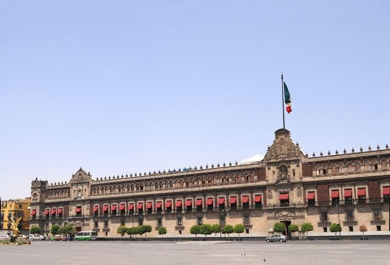 Photo Palais National de Mexico