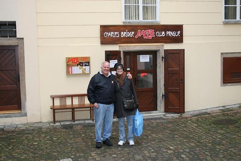 Charles Bridge Jazz Club - Prague