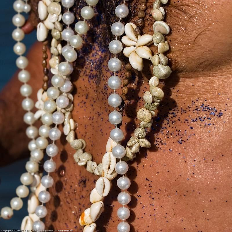 Beads + Pearls / Mermaid Parade / Coney Island / Brooklyn / New York City / 2007