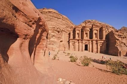 Photo Le grand temple - Petra