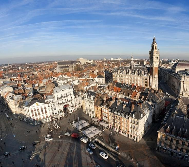 La Grand'Place vue de haut