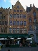 Huyze Die Maene Bruges on Markt where I had dinner