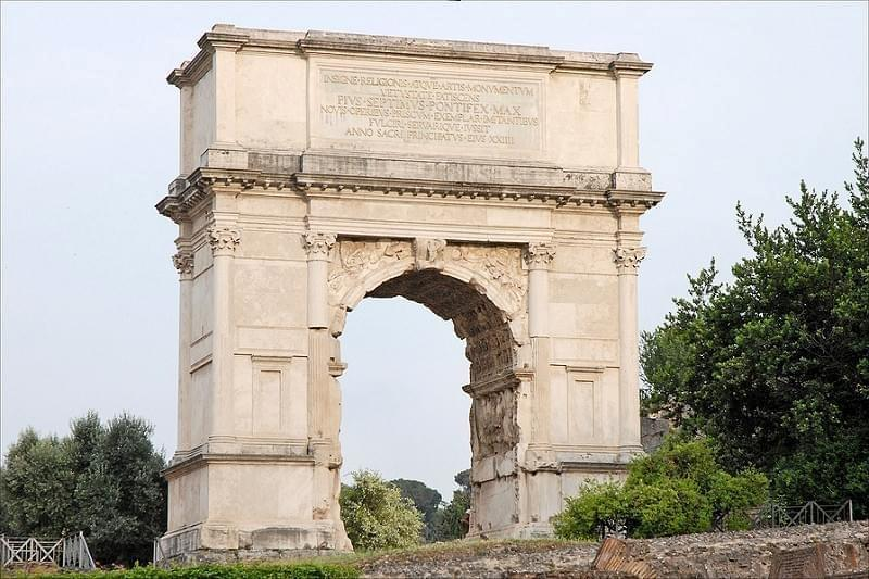 L'arc de Titus (Forum Romain)