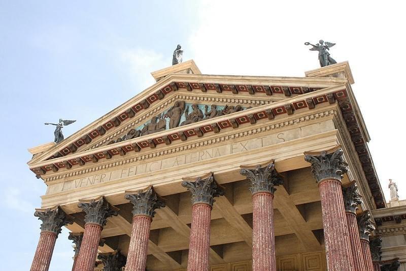 Le temple de Vénus et Rome