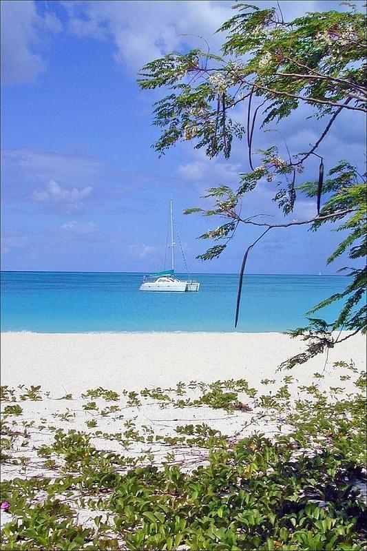 Une plage au sud d'Antigua