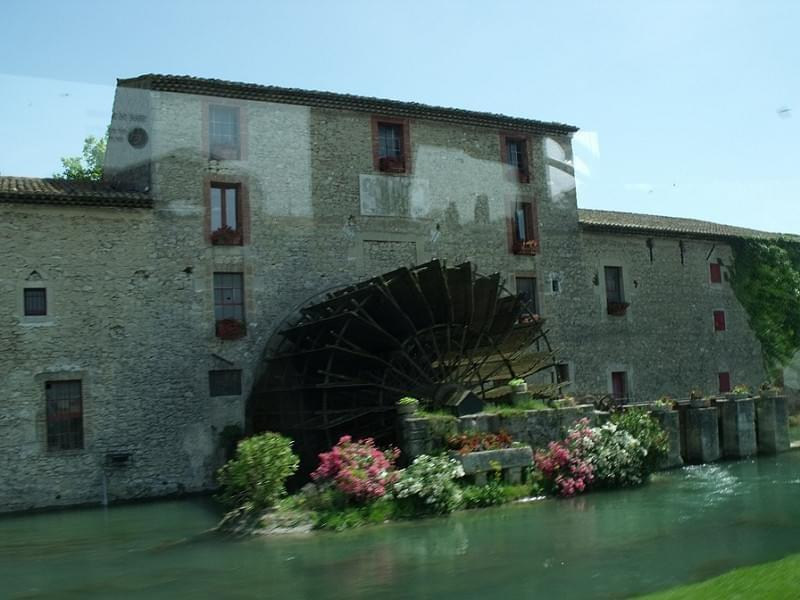 The Luberon -  Saint-Pierre Mill near Taillades