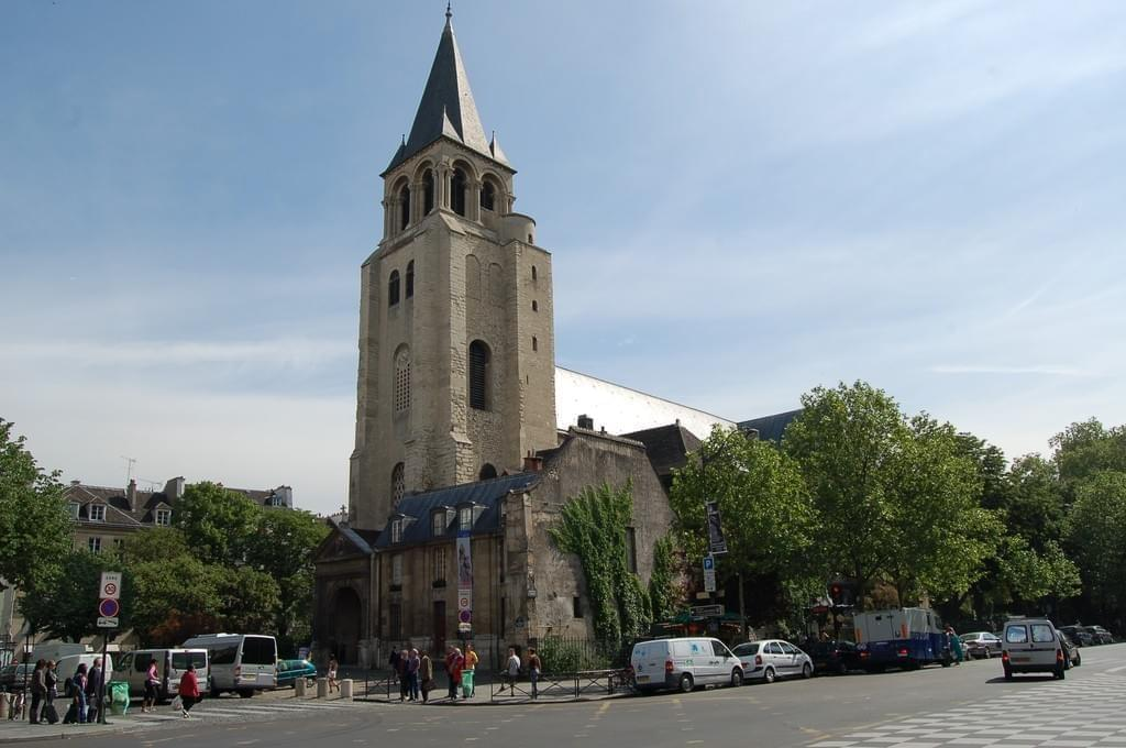 La place Saint-Germain et l'église