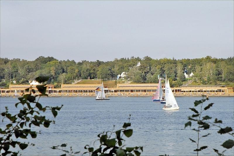 Plage et lac Wannsee