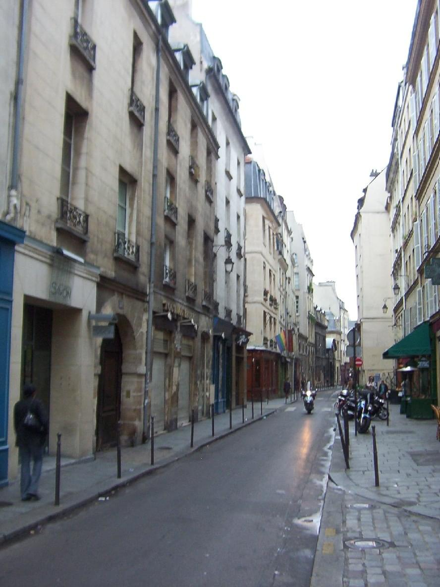 Quartier Du Marais Paris