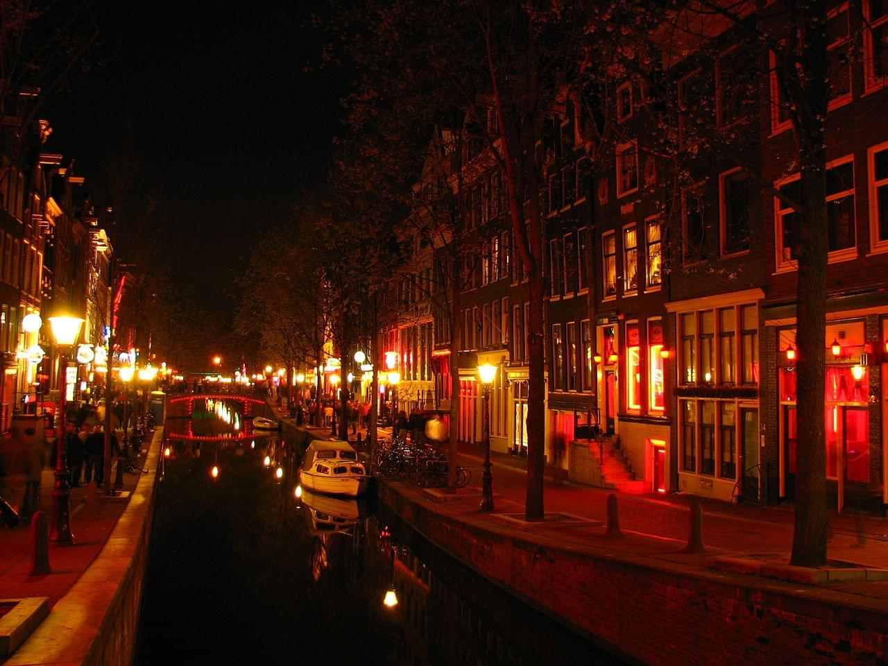 Le Red light district, le quartier rouge