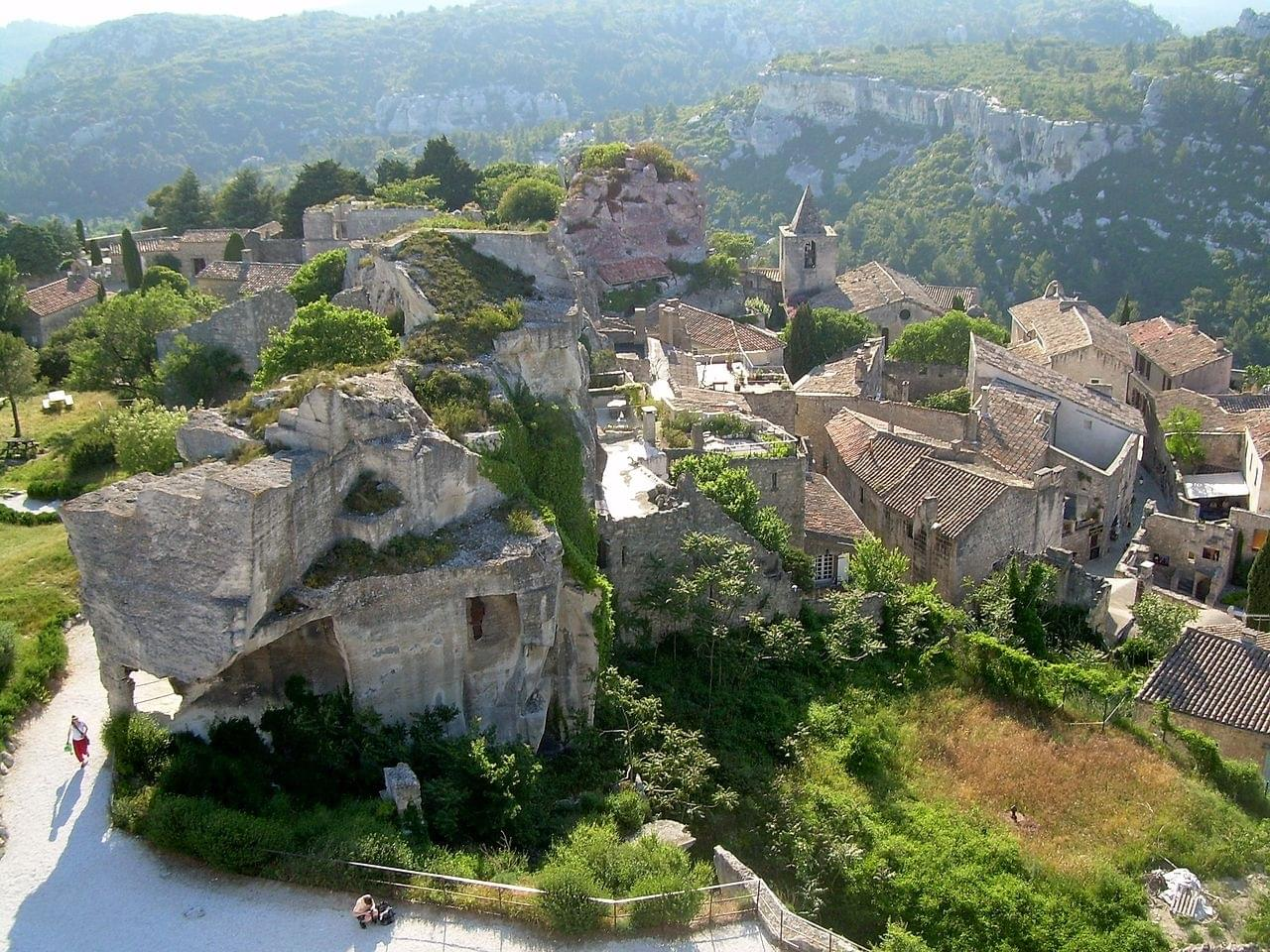 Les Baux de Provence : introduction