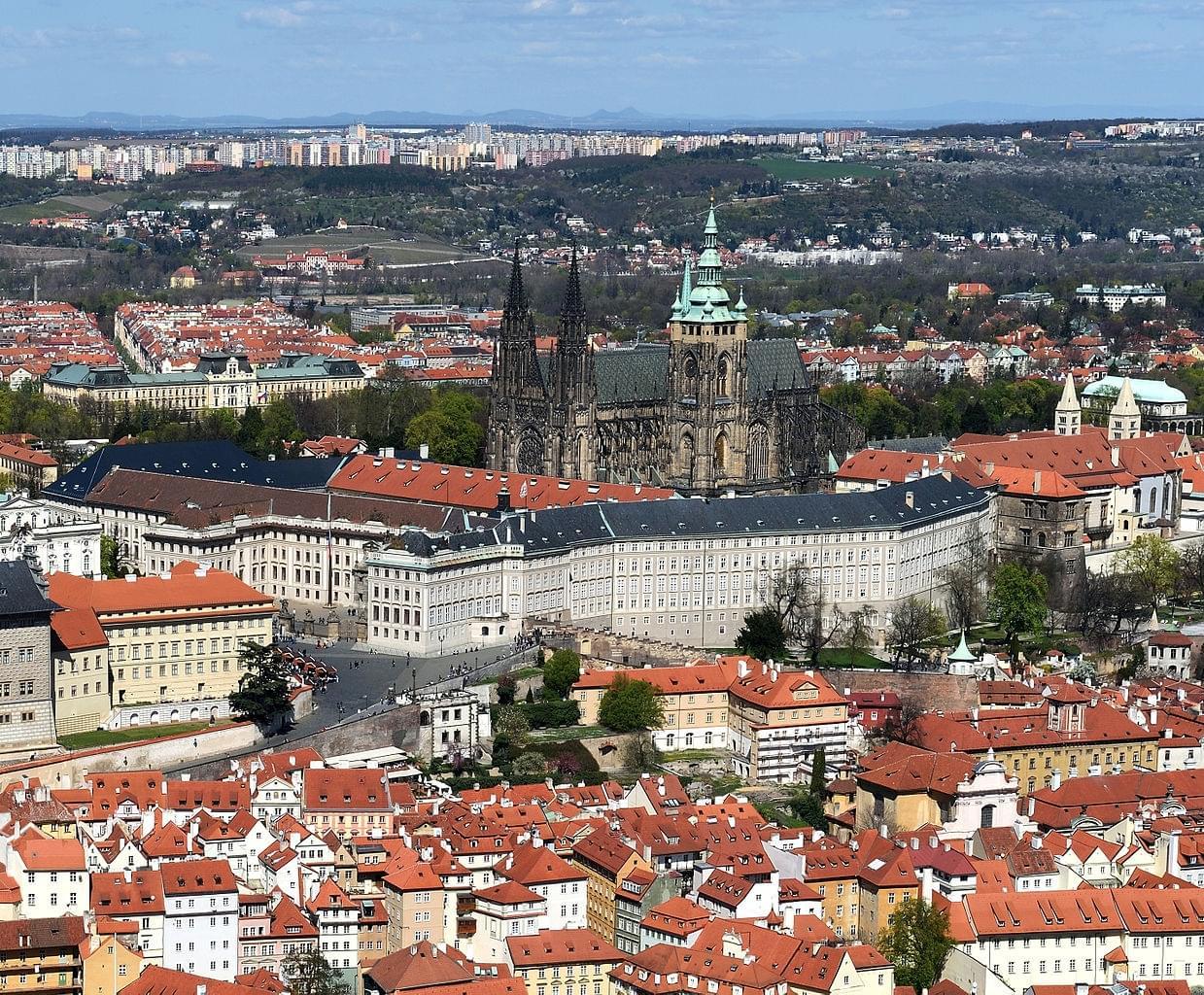 Deuxième promenade au Château de Prague : introduction