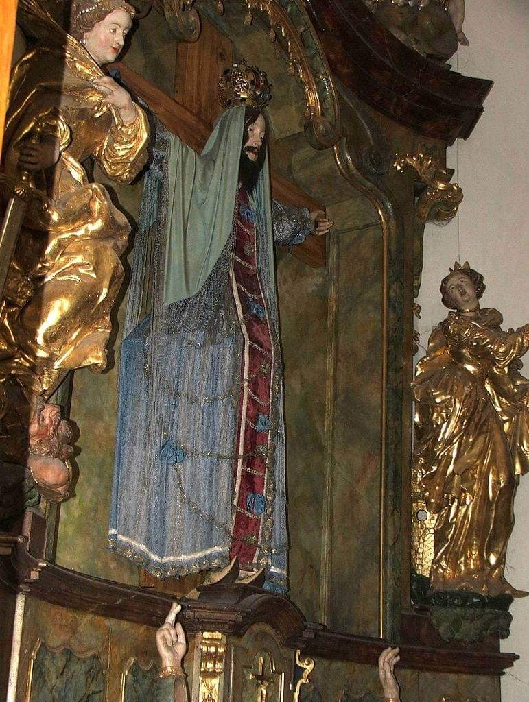 L'autel de Sainte Wilgeforte