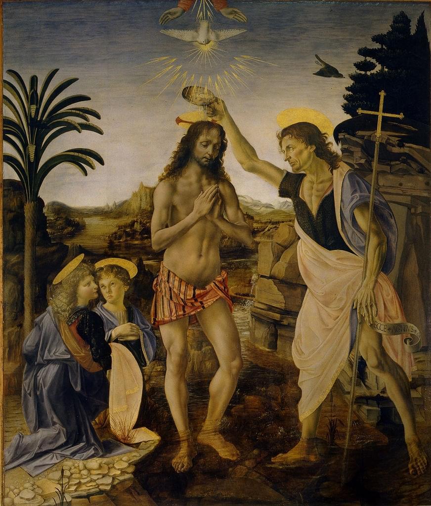 Les œuvres de Léonard et Verrocchio