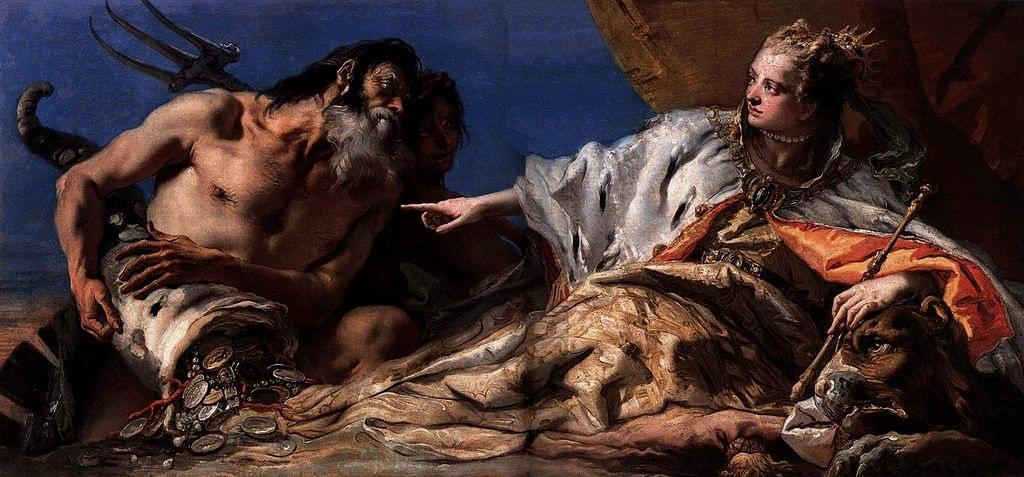 Le grand peintre Tiepolo