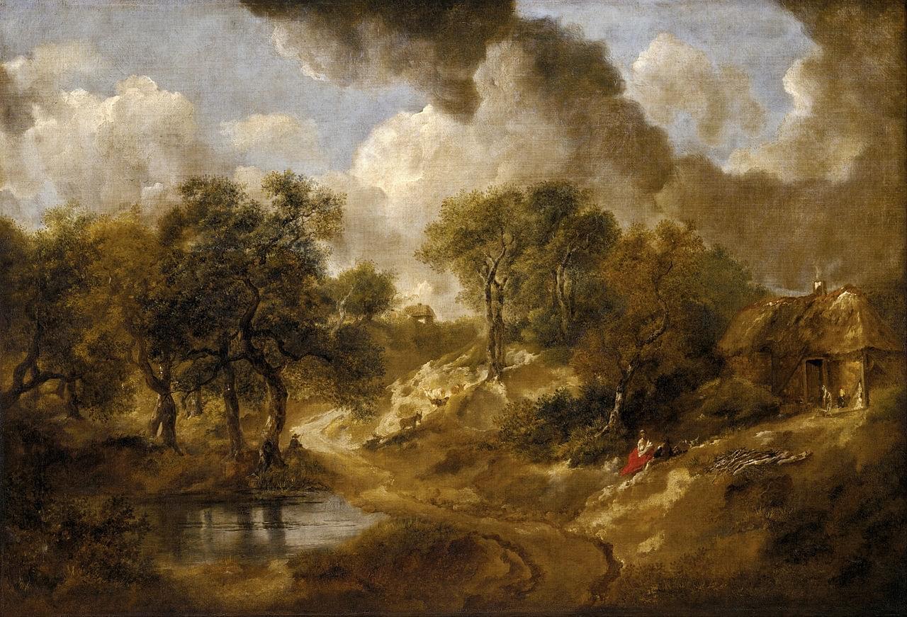 Le Paysage du Suffolk par Gainsborough