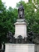 La statue de William Ewart Gladstone