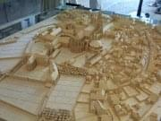 Saint Denis Cathedral and Abbey in the Middle Ages, a Model