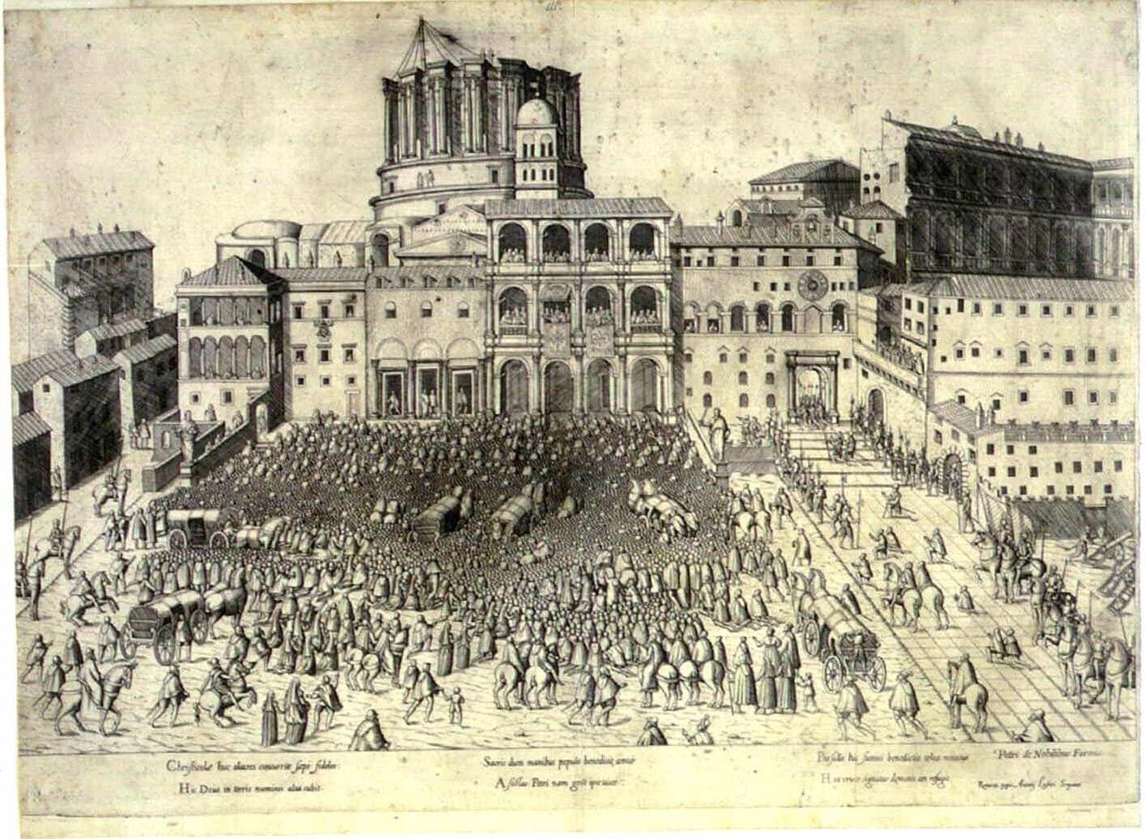 The history of the construction of the basilica