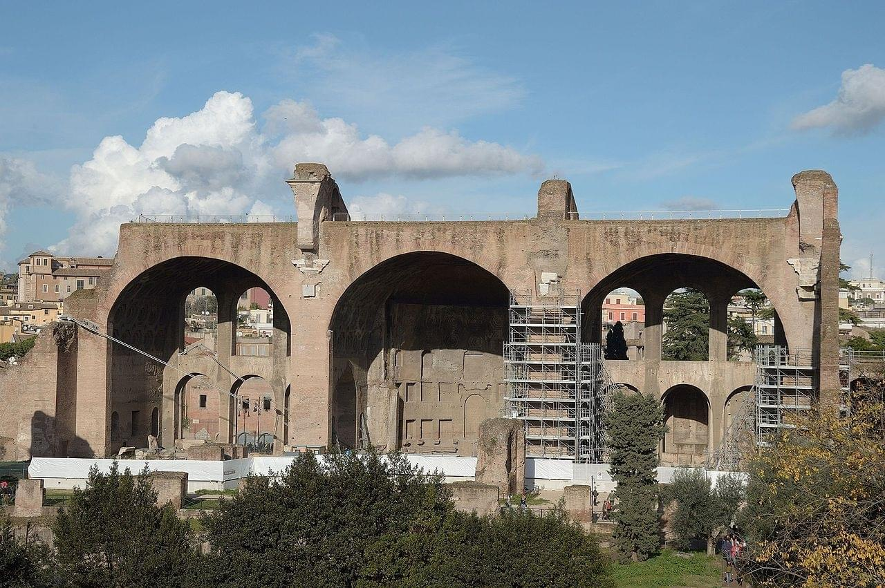 The Basilica of Maxentius and Constantine